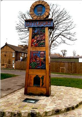 The Littleport Town Sign