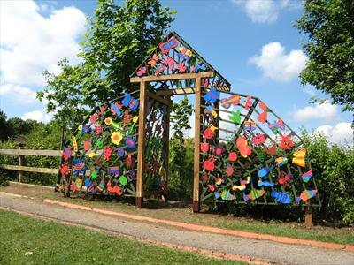 Jeremy Turner The Gateway to Our Magic Garden Recent School Art