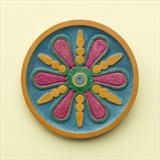 Fruity Jazz plate in sycamore by Jeremy Turner, Wood, turned and relief carved plate in sycamore