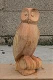 My Sister's Owl, photo 2 by Jeremy Turner, Sculpture