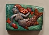 Small Blue Mermaid by Jeremy Turner, Sculpture