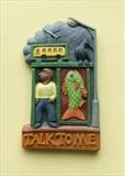 Talk to Me by Jeremy Turner  Woodcarver, Sculpture, Wood