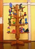 The Catherine Story Tree by Jeremy Turner, Sculpture, Wood