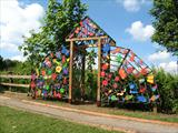 The Gateway to Our Magic Garden by Jeremy Turner, Sculpture