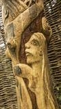 The Holly Tree Dancers, photo 3, detail by Jeremy Turner, Wood