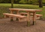 The New Picnic Bench, Bourton Park, Buckingham by Jeremy Turner, Sculpture, Wood