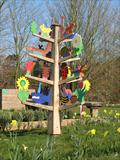 The Old Basing Tree of Life by Jeremy Turner, Sculpture, Wood