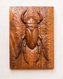 Water Boatman by Jeremy Turner, Wood